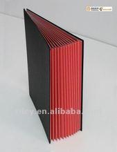 Classic style Signature Book(black PVC cover)
