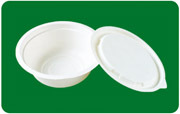 water proof and oil resistant sugarcane bagasse bowl 350ml