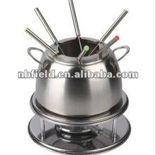 stainless steel fondue set,fondue,alcohol fondue set