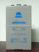 POzV series lead acid battery/solar and wind battery 2v 200ah