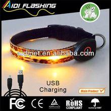 new design flashing led polyester dog product