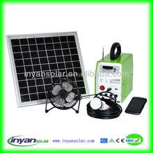 10W solar panel system