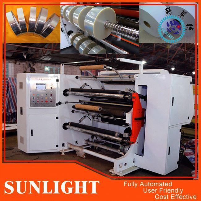 Plastic Film Slitting And Rewinding Machine
