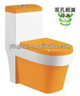 OP-9048-E sanitary ware orange colored toilet price cheap
