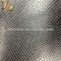 moda serpiente de grano de cuero sintético pu wr8009