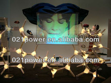 Adhesive Rear Projection screen film has high light transmittance and diffusion, making excellent color reappearance