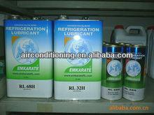 Refrigerant Emkarate lubricant RL 32H, 42H, 68H for auto air compressor, top brand