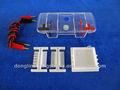 خلية الكهربائي جل agarose( الصغيرة)، مصغرة جهاز، صغيرة خلية الكهربائي