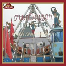 Fantastic outdoor amusement game machine beautiful pirate ship for sale