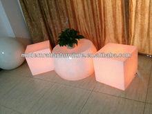 2013 german event bar Furniture LED Illuminate Furniture---led illuminate cube chairs