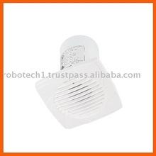 Ultra faible bruit de ventilation d'échappement turbo ventilateur de salle de bains
