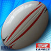 PU leather rugby ball size 4