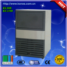 2015 Hot sale ice maker/ ice cube maker/ ice making machine for making ice cube with imported compressor and stainless steel she