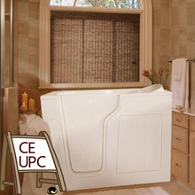 Air and whirlpool massage bathtub for elder or disabled CWB3555