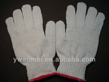 Hot sale cotton knitted work gloves The cheapest factory price