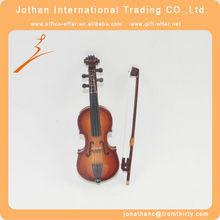 Wooden Mini Violin Decoration