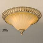 European style elegant wrought iron glass lamp bedroom balcony aisle celiing light