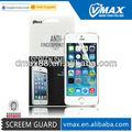 Nueva llegada a+quality protector de pantalla para el iphone 5s oem/odm( anti- el deslumbramiento)