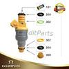 CF-001 fuel injector repair kits include O ring / filter / cap
