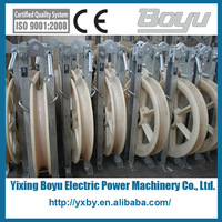 Stringing Equipment wire rope pulley wheel