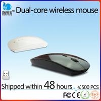 2.4g RF mini colourful optical wireless mouse with mini receiver