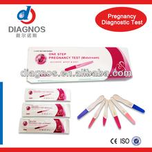 Sale! Medical rapid diagnostic test kit HCG pregnancy test, CE mark