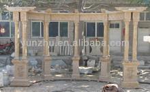Marble stone gazebo, stone garden carving, stone carving
