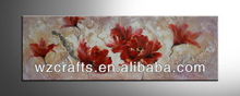 Passion Flower paintings by hand decor on the home