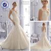 SA7707 New style open back sexy mermaid wedding dress patterns