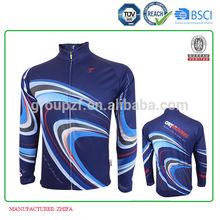 coolmax long sleeve cycling jersey OEM Article No. JM1013