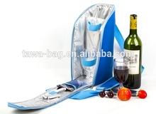 BSCI audit picnic Wholesale bottle wine cooler tote bag
