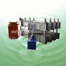 hot building conveyor belt joint vulcanizing machine