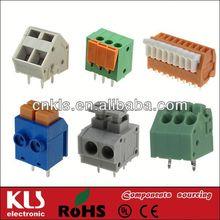 19 pole pcb terminal block 2.54mm 3.5mm 3.81mm 5mm 7.5mm 10mm pitch UL CE ROHS 50