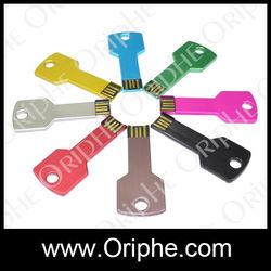 Factory Bulk Sale Custom Any Logo Key Shape usb Flash Driver Pendrive 32gb