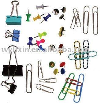 Clip de papel, Blinder clip, Push pin, Tachuela de pulgar