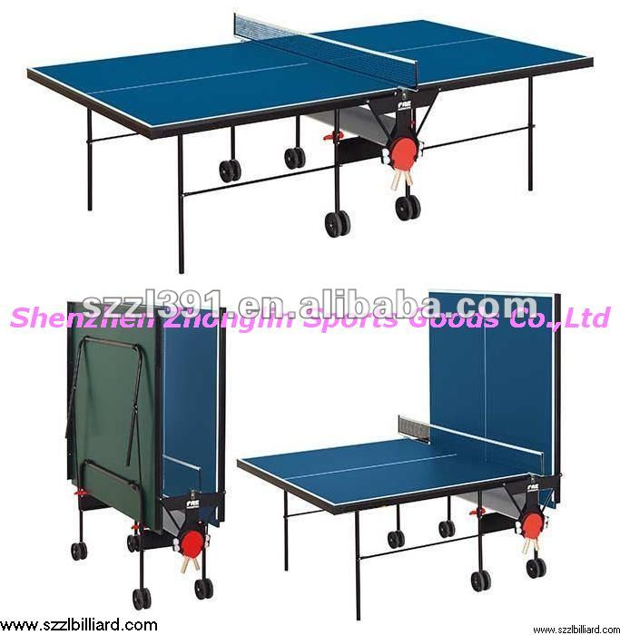 Double folding indoor outdoor table tennis table game - Table ping pong exterieur ...