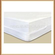 100% polyester waterproof 3 side zipper mattress protector