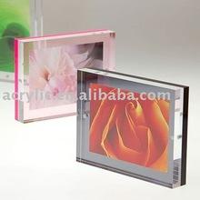 2012 magnic photo frame made of acrylic