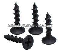 phillips flat countersunk head double fine /coarse thread case hardened drywall screw