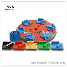 Diamonds grinding plates redi-lock/Huaqvarna diamonds