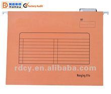 Popular Paper Suspension File with Plastic Tab