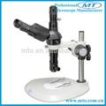 Monocular 1x-6.5x deiluminación coaxial de video microscopio