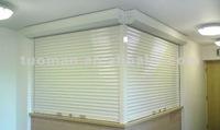 Internal roller shutters