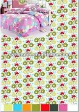 2012 bestsale printed bedsheet fabric