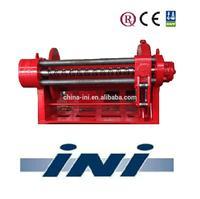 INI 600 kN 60 ton marine hydraulic mooring winch