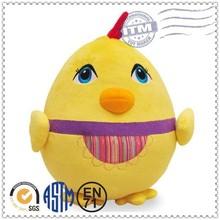 2014 Hot New Design Plush Toys China Manufacturer Toys plush yellow chicken toys