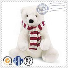 OEM Stuffed Plush Toy,Customized Plush Toy,christmas polar bear doll