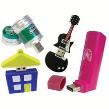 Hot Sale Free Sample pen drives different shapes for Promotional Gift