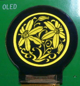 1.13inch Round OLED