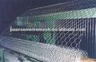 Hexagonal wire mesh steel wire rabbit cage
